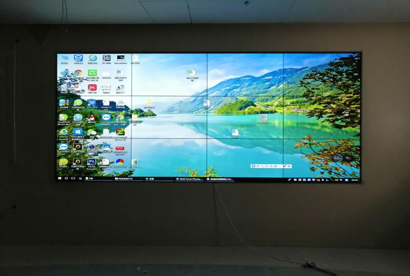 新疆库尔勒国家电网液晶拼接屏案例
